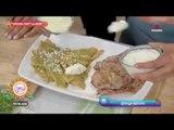 ¡La Jefa, Ingrid Ramos nos prepara chilaquiles con carne asada!   Sale el Sol