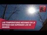 Alarma en Zacatecas por radiación extrema debido a altas temperaturas