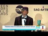 ¡Morgan Freeman refuta denuncias en su contra por abuso sexual! Noticias con Paco Zea