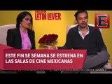 """Eugenio Derbez y Salma Hayek promocionan en México """"Cómo ser un latin lover"""""""