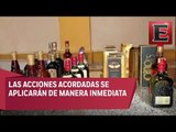 Profeco firma convenio contra bebidas alcohólicas adulteradas