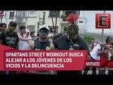Mitos y ritos: Spartan Street Workout gimnasia urbana en la CDMX