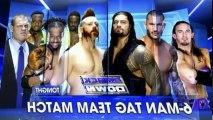 WWE Friday Night SmackDown! S17 - Ep24 Main event Roman Reigns, Randy Orton & Nev'ille vs. Kane, Sheamus & Kofi Kingston (Lafayette, LA) - Part 01 HD Watch