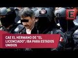 """Detienen a hermano de Dámaso López, """"El Licenciado"""""""