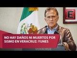 No hay daños mayores por sismo del sábado en Veracruz: Yunes