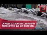 Vecinos de Cuautitlán Izcalli consideran insuficiente costales para evitar inundaciones
