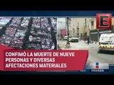 Alfredo del Mazo y las afectaciones en el Estado de México