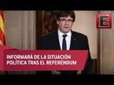 Carles Puigdemont pide comparecer en Parlamento de Cataluña