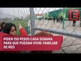 Se vive un infierno al interior del penal Neza-Bordo: Familiares de reos