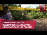 Concluyen identificación de restos hallados en fosas clandestinas en Veracruz