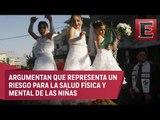 PVEM propone erradicar el matrimonio infantil en México