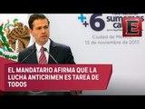 Peña Nieto critica el bullying a las instituciones policiacas