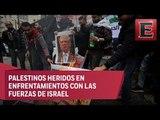 Palestinos protestan en Gaza tras anuncio de Trump