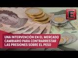Banco de México coloca 400 mdp en subasta