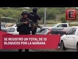 Balaceras y bloqueos, así amaneció Reynosa