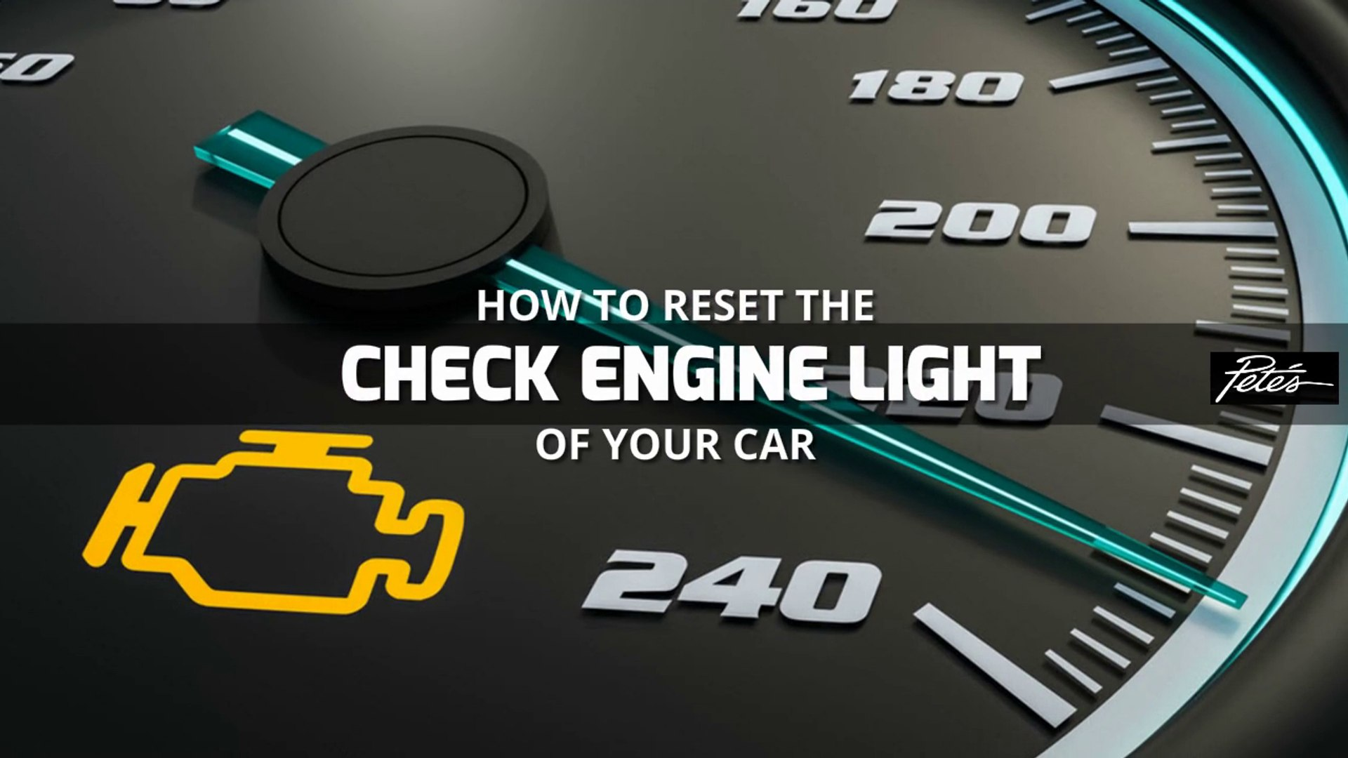 How To Reset Check Engine Light >> How To Reset The Check Engine Light Of Your Car