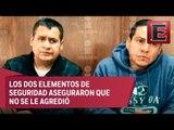 Marco Antonio no tenía golpes y se respetaron sus derechos: policías