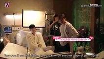 [ENGSUB] W Two Worlds BTS - Hospital Scene  Behind The Scene Ep.2