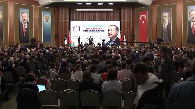"""Cumhurbaşkanı Erdoğan: """"Ak Parti, Hizmetkarlığına Talip Olduğumuz Bu Büyük Milletin Bizzat Kendi..."""