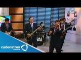 Show en vivo de Los Ángeles Negros en No lo cuentes / Live show to Los Angeles Negros