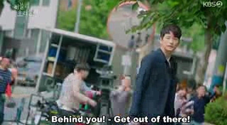 Lovely Horribly Ep 29-30 Eng Sub Part 1  Gikwang saved Philip & EulSoon  (Park Shi Hoo & Song Ji Hyo)