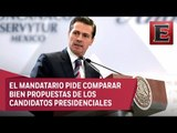 Peña Nieto condena política migratoria de Estados Unidos