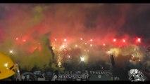 EKSPLOZIJA na JUGU (Baklje, dimovi, strobovi, vatromet  ) ,  Partizan - Voždovac, 05 10 2018