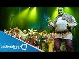 Debuta hija de Gaby Valencia en Sherk el musical  / Daughter Gaby Valencia debut in Shrek