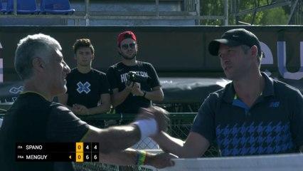 Day 1: Men's Singles: Spano (ITA) vs Menguy (FRA)