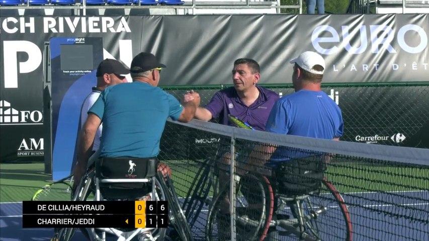 Day 1: Men's Double: De Cillia/Heyraud vs Charrier/Jeddi