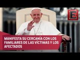 Papa Francisco lamenta muertes por colapso de puente en Génova