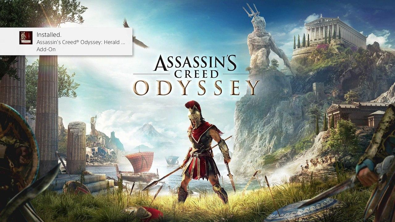 Assassins S Creed Odyssey Pt 1 Gameplay Walkthrough Ps4