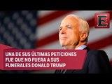 Muere a los 81 años, el senador y excombatiente de Vietnam, John McCain