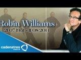 Muere Robin Williams /  Robin Williams suicidio / Robin Williams found dead in home