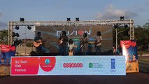 Habeys fusion performing live on sci-tech kids festival organized by Ooredoo Maldives.Habeys Boduberu will be performing tonight at 20:00.