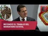 Peña Nieto acude al Primer Informe de Gobierno de Alfredo del Mazo