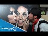 Eduardo Laparade inaugura en estación Buenavista exposición del nacimiento de Cantinflas