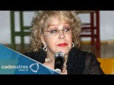 Silvia Pinal tiene glaucoma en un ojo / Silvia Pinal has glaucoma in one eye