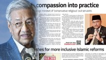 Dr M: Islam is not about chopping heads and hands