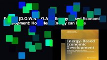 F.R.E.E [D.O.W.N.L.O.A.D] Energy-Based Economic Development: How Clean Energy can Drive