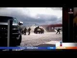 Fuertes imágenes de enfrentamiento entre militares y delincuentes | Noticias con Francisco Zea