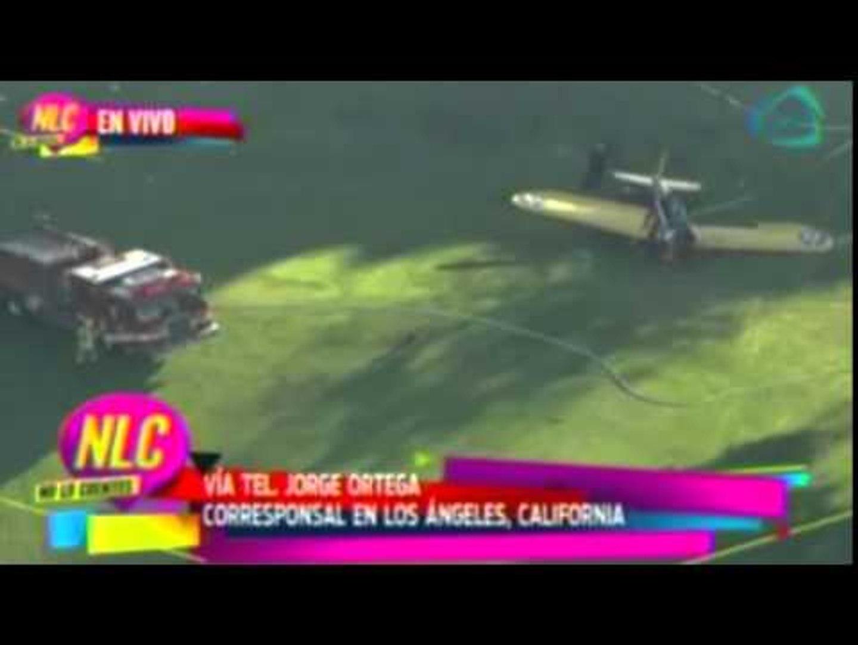 Cae avioneta de Harrison Ford  /  Harrison Ford injured in plane crash