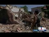 Pobladores tiran sus viviendas por su propia seguridad | Noticias con Ciro Gómez Leyva