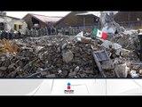 Grabaron colapso de edificio en la Roma | Noticias con Francisco Zea