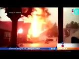 Graban el momento exacto en que cae un rayo en Canadá | Noticias con Francisco Zea