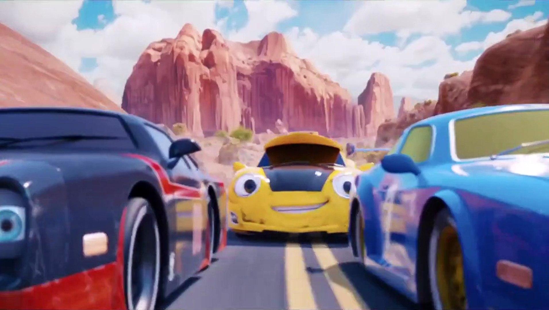 Cesur Araba - Wheely (2018) Türkçe Dublajlı Fragman - Animasyon Filmi