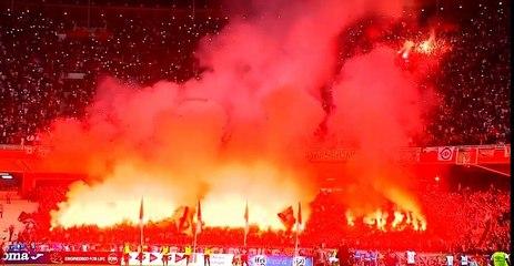 Derby : Craquage des supporters du Mouloudia d'Alger