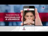 Tinder advirtió a los usuarios sobre los riesgos de usar la app | Noticias con Ciro