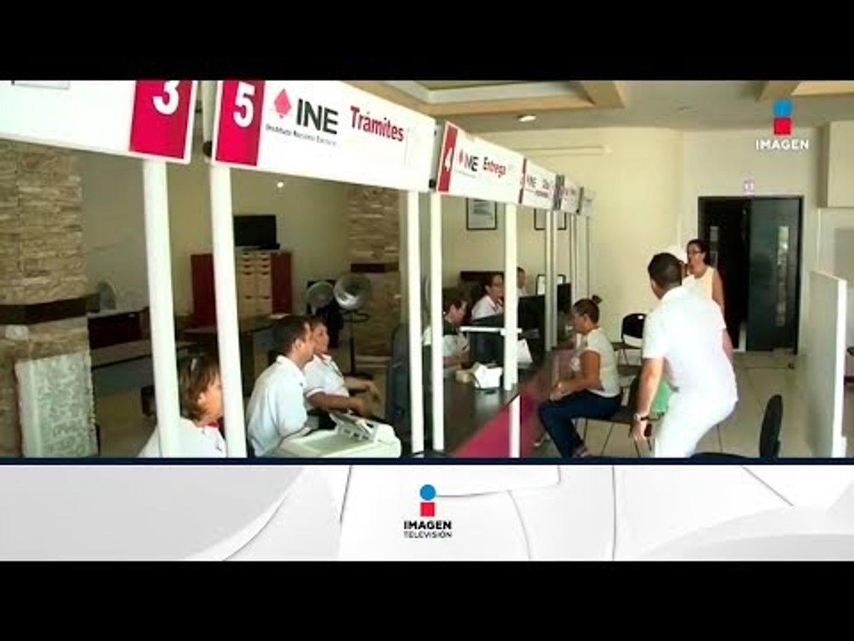 Los Módulos Del Ine Abrirán El Domingo Noticias Con Francisco Zea