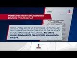 Pemex desmiente rumores sobre incremento en combustibles | Noticias con Ciro Gómez Leyva